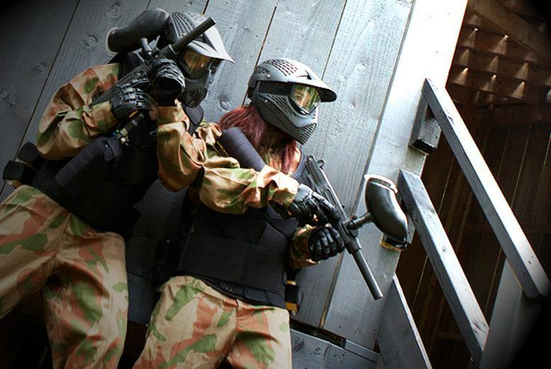 £10 for a paintballing day for up to five people including 100 balls and a light lunch each, £19 for 10 people at over 30 UK locations  - save up to 91%