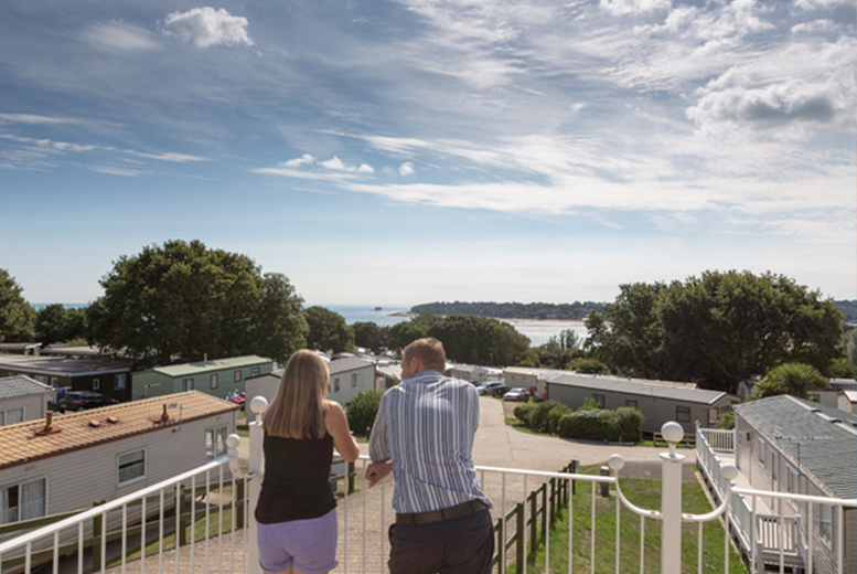 £139 for a three-night weekend or a four-night midweek Isle of Wight caravan break with return car ferry for up to six at a choice of Park Resort - save up to 37%