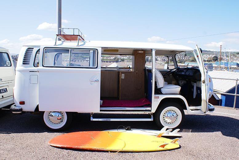 From £139 (with VDubAndAway) for three-night weekend VW campervan hire for up to four people, from £169 for four-night midweek hire - save up to 58%