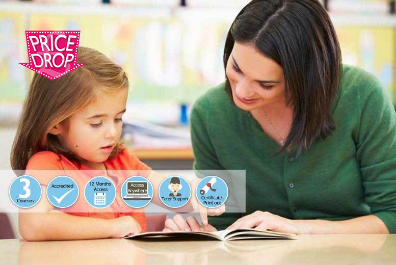 CPD-Accredited Level 2, 3 or 4 Teaching Assistant Courses from £16
