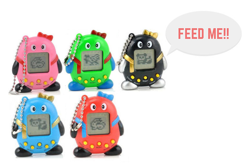 2 Retro Virtual Pets with Eyes & Feet – 168 Pets! for £4.99