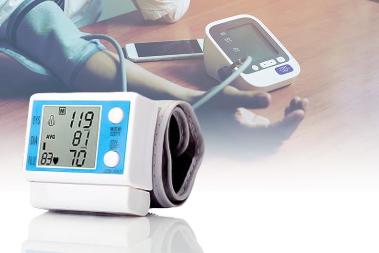 Digital Wrist Blood Pressure Monitor for £10.99