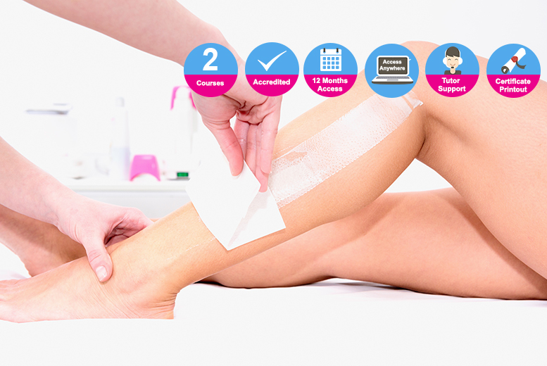 Accredited Level 2 & 3 Waxing Courses from £16