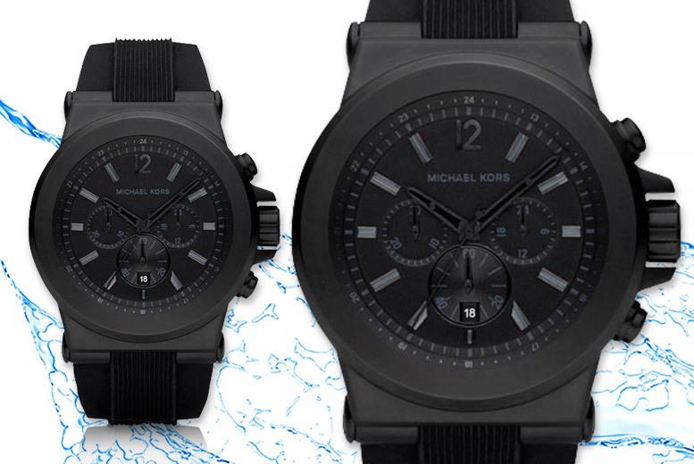 Michael Kors Water-Resistant MK8152 Chronograph Watch