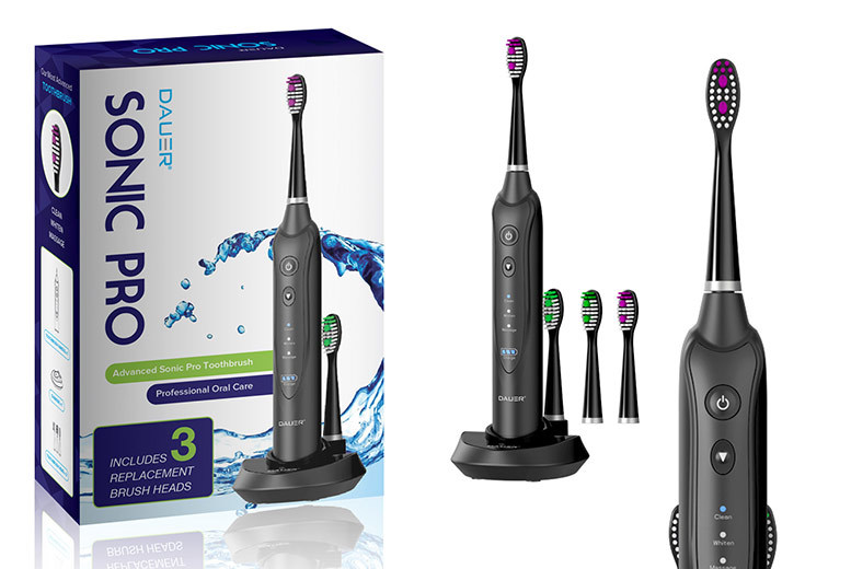 Sonic Pro Electric Toothbrush with Charging Dock