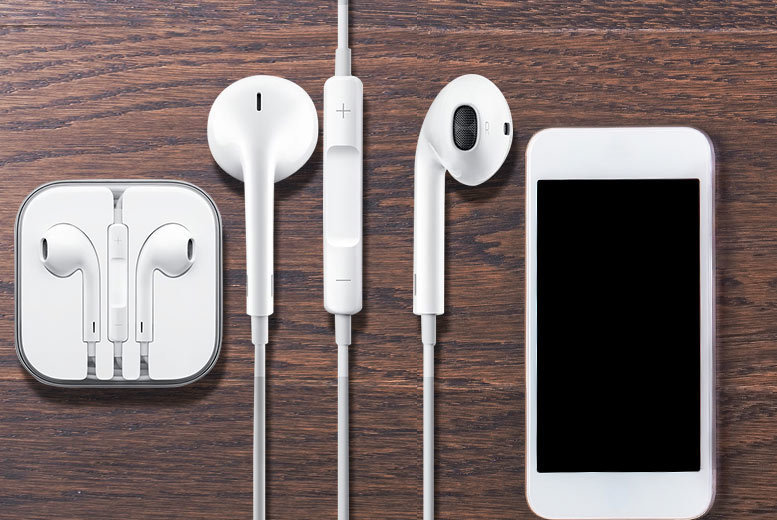 Apple EarPods, Mic, Remote & 3.5mm Headphone Plug for £7.99