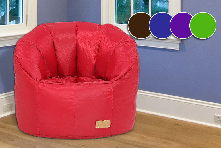 Giant Pumpkin-Style Beanbag Chair – 5 Colours! for £24