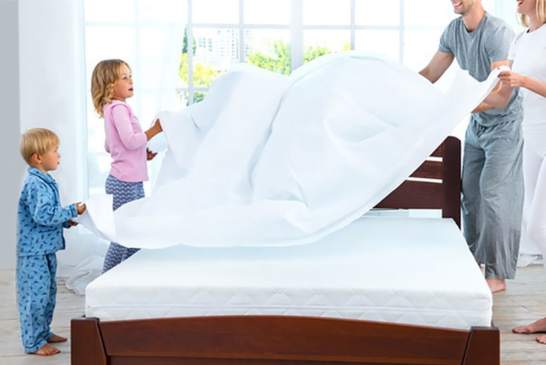 Four-Way Waterproof Mattress Protector Cover