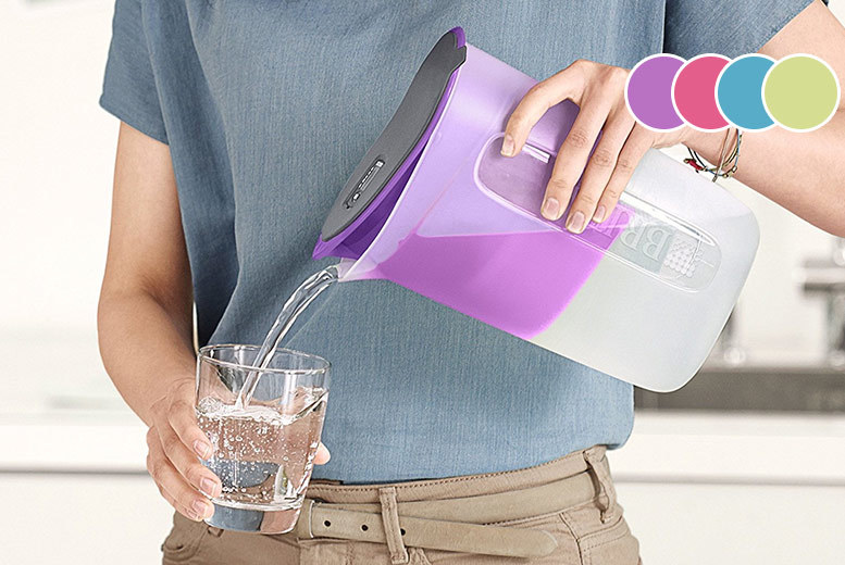 Brita Water Filter Jug & Cartridge – 4 Colours! for £9.99