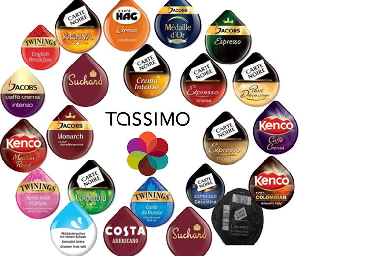 23 Tassimo Variety T-Discs – Assorted Flavours! for £9