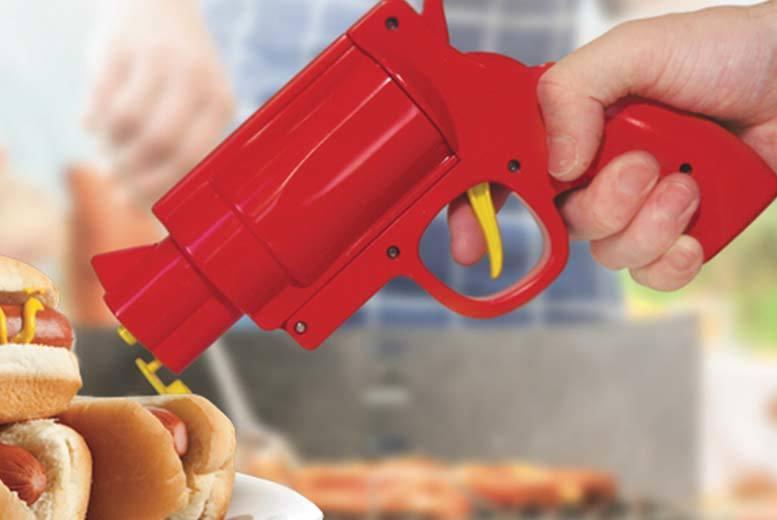 Novelty Condiment Sauce Gun