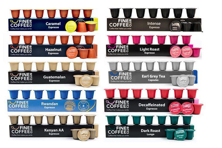 100 Nespresso-Compatible Tea & Coffee Capsules for £14.98