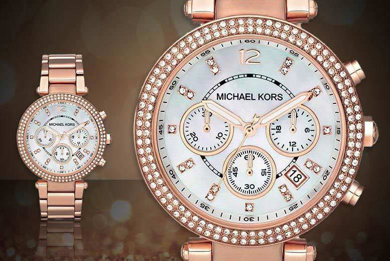 Ladies' Michael Kors MK5491 Parker Watch for £109