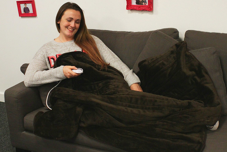Electric Heated Blanket from £29.99