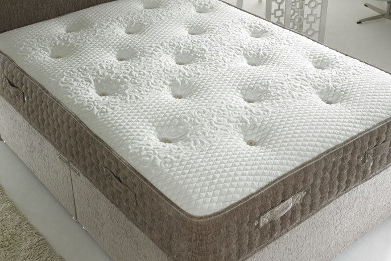 2000 Pocket Spring Chenille Orthopaedic Mattress from £159