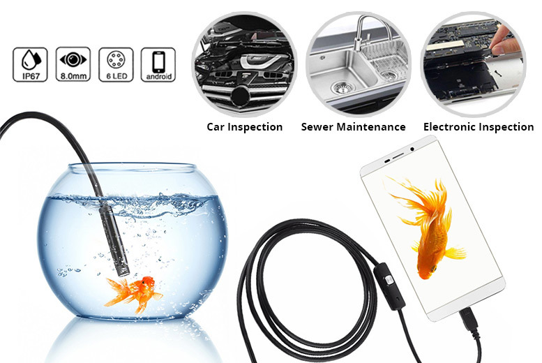 3.5m HD Android Endoscope for £12.99