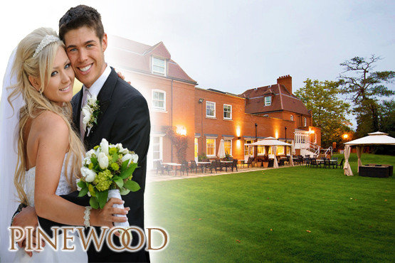 £2400 instead of £5349 for a 50 guest wedding and 75 guest reception including wine and a 3 course meal at Pinewood Hotel, Buckingham – save 55%