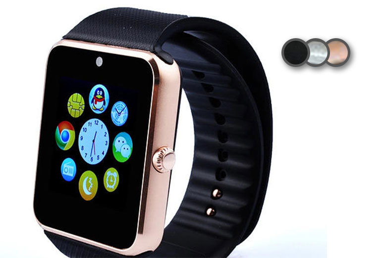 £19.99 instead of £79.99 (from Mobi Trends) for an i-touch Bluetooth smart watch in a choice of three colours - save 75%