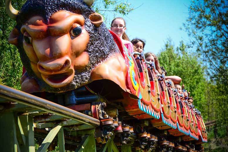 Twinlakes Theme Park Family Ticket