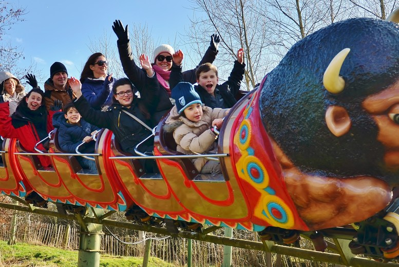 £49 instead of £79.96 for a family ticket to Twinlakes theme park, Melton Mowbray - save 39%
