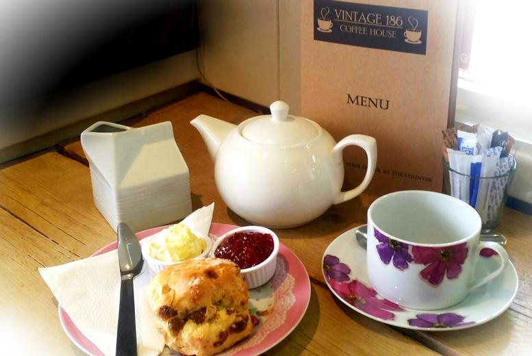 Vintage Cream Tea for 2