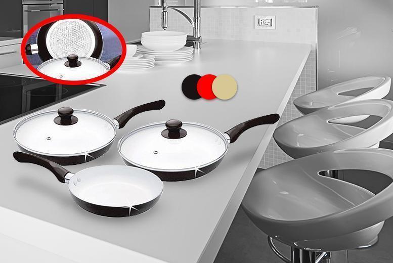 non stick ceramic pan set