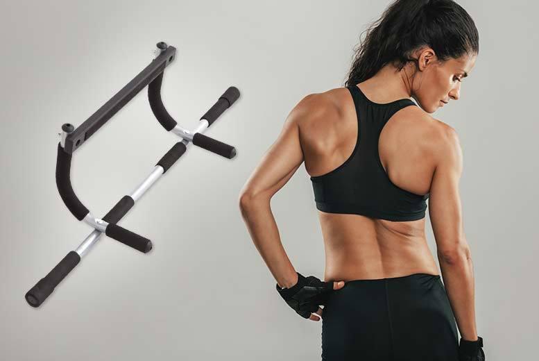 Indoor Gym Upper Body Workout Bar for £12