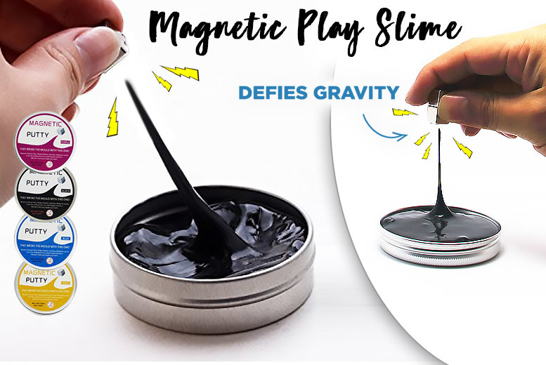 Dr. Frank's Crazy Magnetic Play Slime – 4 Colours! for £6.99