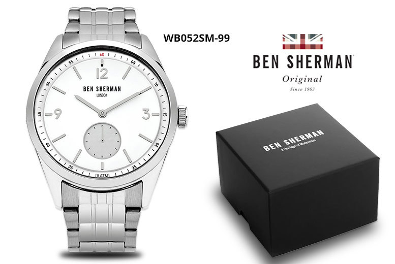 Ben Sherman Stainless Steel Watch- 2 Designs! from £26