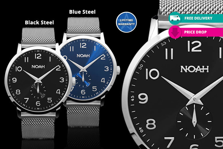 Noah Luxury Mesh Watches - 4 Designs & Delivery Included!