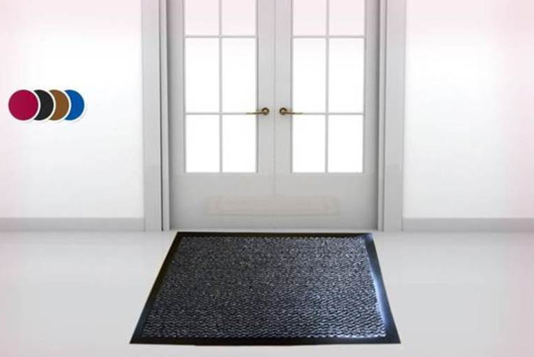Magic 'Dirt Grabber' Door Mat – 4 Colours & 6 Sizes from £3.99