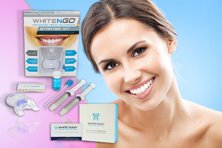 £21 instead of £188 (from DVA Beautique) for a seven-piece teeth whitening starter kit and 14 whitening strips - smile and save 89%
