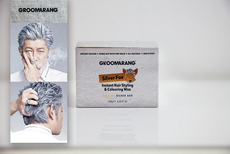 Groomarang Silver Fox Colouring Wax for £7