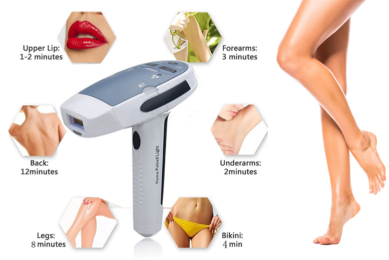 Professional IPL Hair Removal System For Home Use for £79