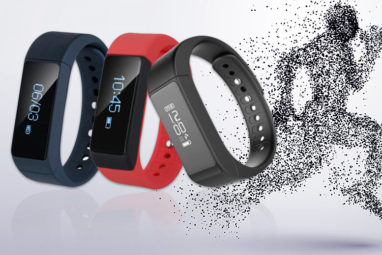 i5Plus Bluetooth Smart Watch & Fitness Tracker – 3 Colours! for £14.99