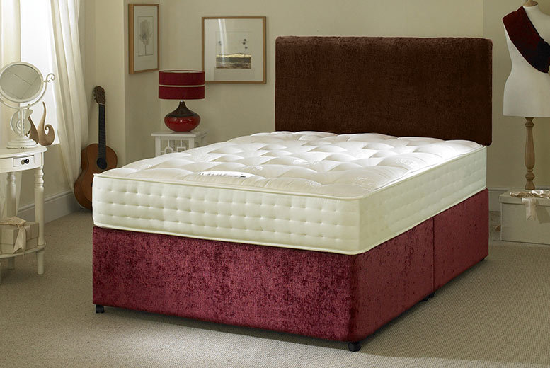 Luxury Ortho 3000 Pocket Sprung Memory Mattress from £129
