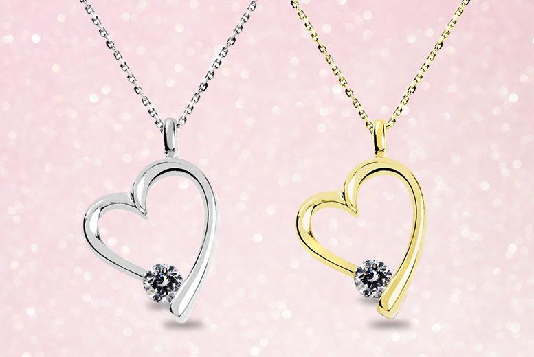 Heart Pendant – 2 Colours! for £14