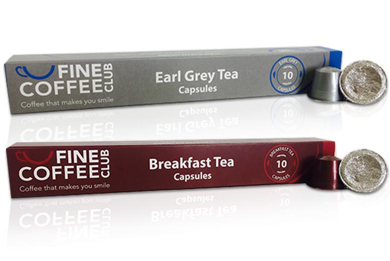 60 Nespresso Compatible Tea Pods for £9