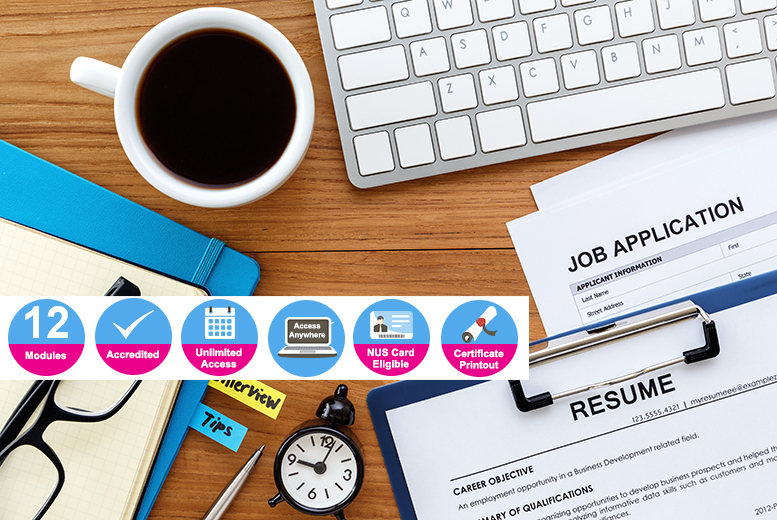 Accredited Certificate in Job Search Skills for £9