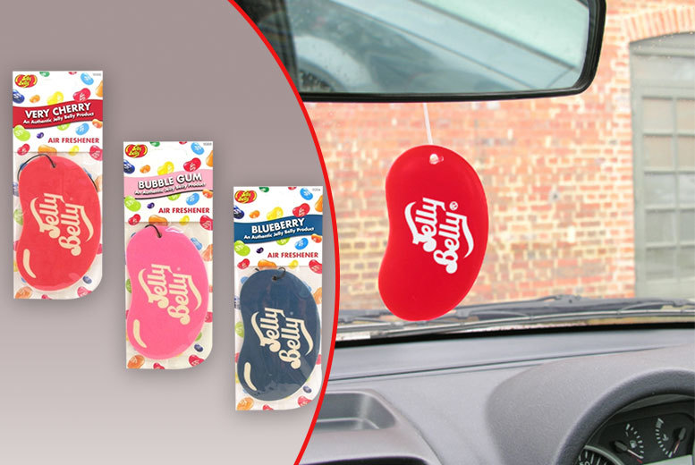 3 2d jelly baby air fresheners