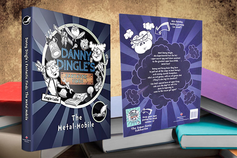 £2.99 instead of £6.99 for a Danny Dingle's Fantastic Finds: The Metal-Mobile book - start a new chapter this summer and save 57%