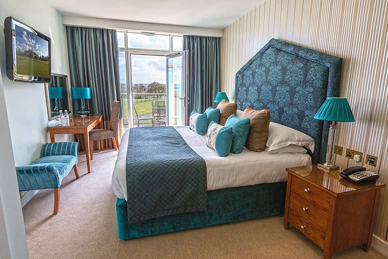 £149 (at The Oxfordshire Golf Club and Spa) for an overnight romantic stay including sparkling afternoon tea, chocolates, breakfast and late check-out - save up to 38%