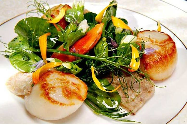 £22 for a £50 food voucher to spend between two people at Restaurant 1861, Abergavenny, £39 for £100 between four people - save up to 56%
