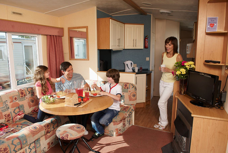 From £89 (from Park Resorts) for a three-night weekend or a four-night midweek caravan break for up to six at a choice of over 30 parks - save up to 51%