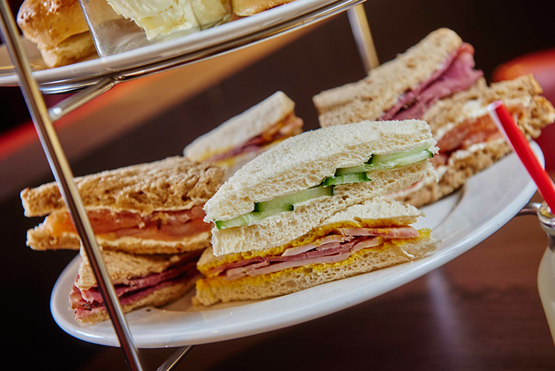 £25 instead of £41.50 for afternoon tea for two people including a glass of Prosecco each at Marco's New York Italian, Kegworth - indulge and save 40%