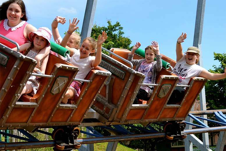 £39 instead of £79.96 for a family ticket for four people to Wheelgate Adventure Park, Newark - save 51%