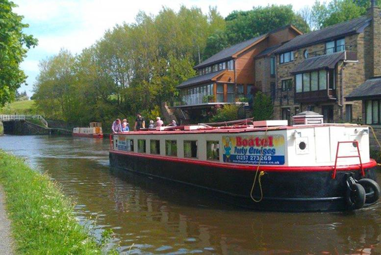 £24 instead of £50 for a cream tea cruise on the Leeds and Liverpool canal for two people, £46 for four with Boatel Party Cruises, Chorley - save up to 52%