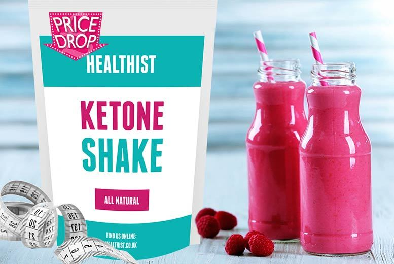 From £14 (from Healthist) for a 30-day* supply of raspberry ketone meal replacement shakes, £24 for a 60-day supply* or £32 for 90 days*