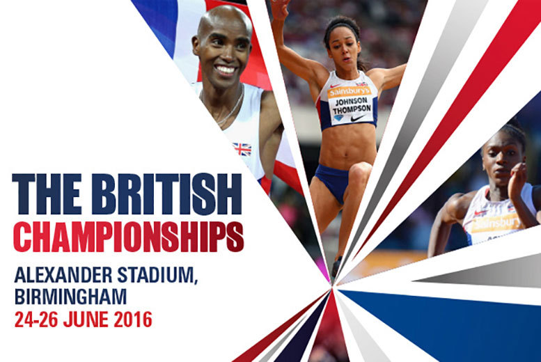 From £11 for a ticket to the British Championships finals day on Sunday 26th June at Alexander Stadium, Birmingham!