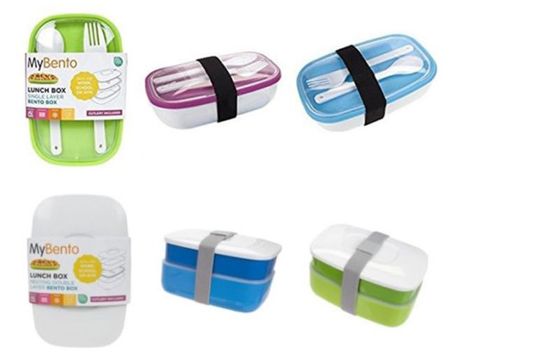 MyBento Lunch Box & Cutlery Set from £4.99